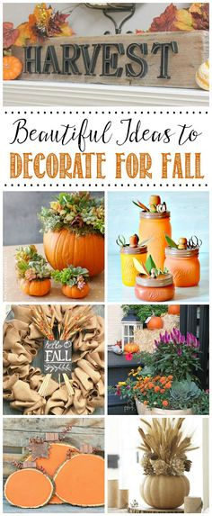 Favorite Fall Decor