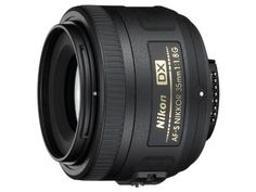 Nikon AF-S NIKKOR 35mm f/1.8G DX Optimized for DX-format cameras, the compact, lightweight AF-S DX NIKKOR 35mm f/1.8G delivers the consistently stunning images you'd expect from a prime lens. Its fast