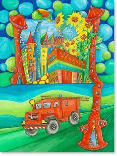 Feuerwehr Stadt