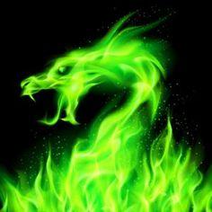 Fire head of dragon in green on black background. Green Aesthetic Tumblr, Dark Green Aesthetic, Aesthetic Colors, Bad Girl Aesthetic, Aesthetic Collage, Aesthetic Pictures, Konosuba Wallpaper, Aesthetic Iphone Wallpaper, Aesthetic Wallpapers
