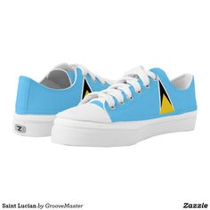 Saint Lucian Low-Top Sneakers