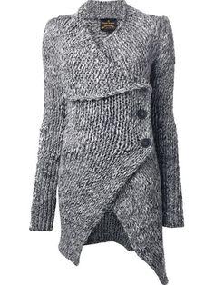 Vivienne Westwood Anglomania 'long Concordia' Cardigan - - Farfetch.com