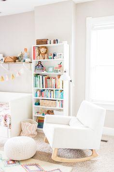 colorful & whimsical nursery #nursery #babygirl #toddlerroom