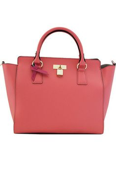 #Vegan Sunday tote in Bright Pink by Angela Roi.