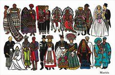 Costumes de Joëlle Jolivet