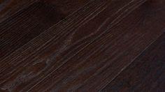 White Oak Dark Stain Hand-Scraped Engineered Floors modern wood flooring