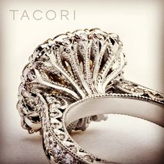"#Holiday #Specials ~ Capri #Jewelers #Arizona carries one of the largest #Tacori Collection ~ http://www.caprijewelersaz.com/Tacori/26500001/EN ♥ This is what we call ""beauty from every angle"". This attention to detail is what makes a Tacori ring so special. #handcrafted #unique"