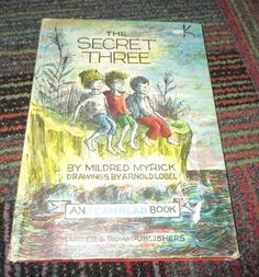 THE SECRET THREE HARDCOVER BOOK BY MILDRED MYRICK, 1963 GREAT READ, GUC