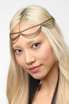 Draped Goddess Chain Headwrap  I want this bc it reminds me of kahlessi