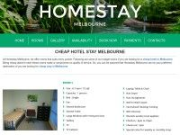 Homestay Melbourne offers cheap and comfortable rooming house for all such travellers. The rooms are well equipped with furniture and comfortable bedding, WiFi internet connection and wardrobe. Professionals who would be working even out of office can do so here without any hindrance. This cheap hotel Melbourne also offers continental breakfast at http://homestaymelbourne.net.au/cheap-hotel-stay-melbourne/
