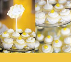 July lemon cupcakes