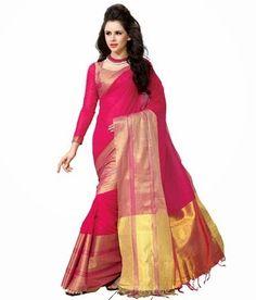 Ishin Printed Fashion Cotton Sari In Rs.1499 (25% Off)
