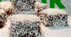 Recipe Lamingtons by Thermomix in Australia, learn to make this recipe easily in your kitchen machine and discover other Thermomix recipes in Baking - sweet. Bellini Recipe, Cake Baking, Vegetarian Chocolate, Sweet Life, Baking Ideas, Cake Cookies, No Bake Cake, Baked Goods, Sweet Recipes