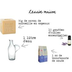 Making your ecological laundry: with Marseille soap and baking soda . - Make your ecological laundry: with Marseille soap and baking soda - Self Branding, Cleaners Homemade, I Can Do It, Natural Cleaning Products, Green Life, Soap Making, Clean House, How To Know, Helpful Hints