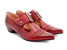 Check out the Fluevog Truth: Pilgrim  love these! Love all of my Fluevogs.