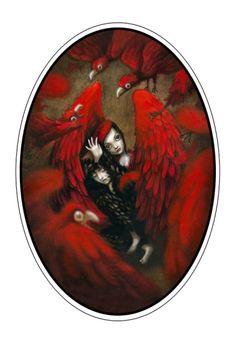 """Benjamin Lacombe """"Birds"""", 2011"""