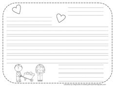 Free Friendly Letter Writing Template With Scaffolding For