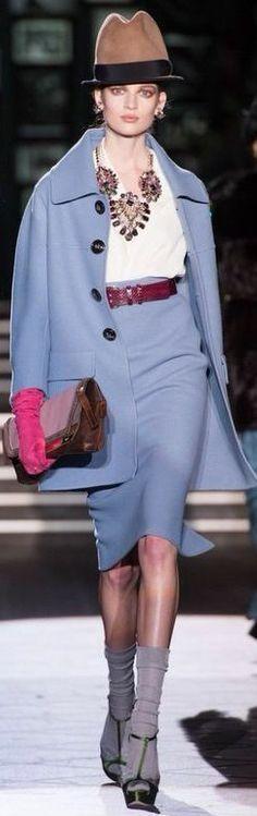 Dsquared² Fall 2013 Ready-to-Wear Collection - Vogue Couture Fashion, Runway Fashion, Fashion Show, Fashion Design, Fashion Trends, Milan Fashion, Dries Van Noten, Catwalk Collection, Dolce & Gabbana
