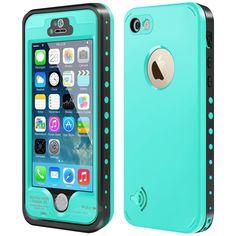 iPhone 5S / SE Waterproof Case, Waterproof Dust Proof Snow Proof Shock Proof Cas #XCASE