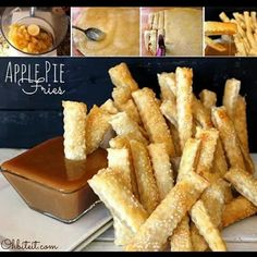 Soooo making these one day soon #ApplePieFries #Yassss