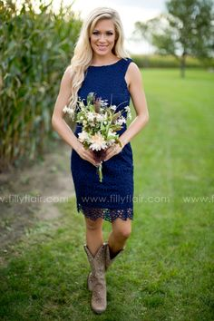 Don't miss out oh this bridesmaid dress with boots that   could be worn again!