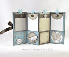 This scrapbooking album I made is now in my Etsy Store. Get the tutorial to make your own on my blog at www.classycutupscreations.com.