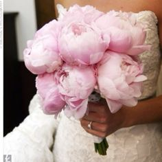 Love Peonies for table centerpieces! For a bouquet, I would do a mix!