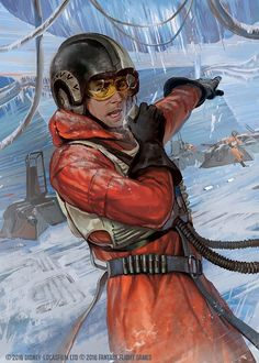Wedge Antilles from Star Wars Episode 5 The Empire Strikes Back