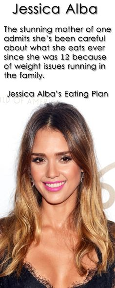 Jessica Alba - Everyone in my family is heavily overweight. I wanted to be healthier, so I started cooking for myself when I was 12 years old...