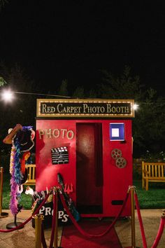 Red Carpet Photo Booth - Temecula, California Wedding from Stacey Ramsey Photography