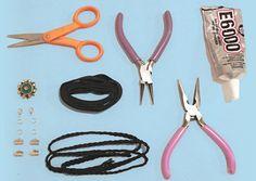 diy choker necklace supplies