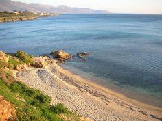 Karystos, Evia , Greece, East beach. Κάρυστος, Εύβοια, Ανατολική Παραλία.