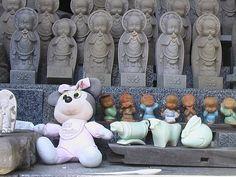 From a photo Tour of Jizo Bodhisattva (Bostsu). Japanese Buddhism Photo Dictionary.