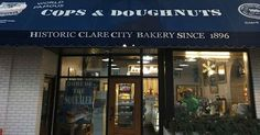 Cops and doughnuts have always been an iconic pair, but members of the Clare Police Department in Michigan have taken the relationship to a whole new level. When a local doughnut shop and bakery was on the brink of closing its doors in the summer of 2009, all nine team members from the department stepped in to save it.