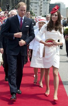 """duchesse kate middleton and  price William. Can we PLEASE bring the """"hat trend"""" to the US? I would love it!"""