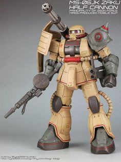 大光明株式會社: type920's MS-06JK ZAKU HALF CANNON