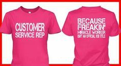 funny customer service shirts - Google Search