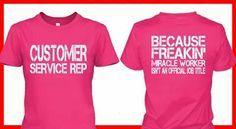 funny customer service shirts - Google Search
