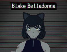 Anime Couples Manga, Cute Anime Couples, Anime Manga, Anime Art, Anime Girls, Blake Belladonna, Rwby Anime, Rwby Fanart, Video Games Funny