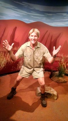Photo of Madame Tussauds Sydney - Sydney New South Wales, Australia. Steve Irwin