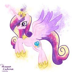 MLP: Princess Cadence Splash by PonySketchy.deviantart.com on @deviantART