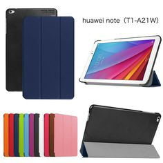Stand Pu Leather Case Cover for Huawei Mediapad T1 10 Huawei T1-A21W 9.6 Inch Tablet Cover Case + Screen Protectors +stylus