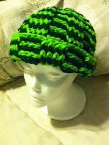 Treasures Made From Yarn: Crochet Stocking Hat