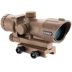 Improve your aim with this Barska compact scope system. This scope features 4x magnification for a clear look at your target and a button-activated illuminated target dot to help improve your shot in                                                                                                                                                                                  More