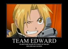FMA - Edward Elric - anime Photo