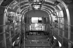 '72 Airstream, gutted