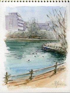 街の風景 #1004 - 楽しいスケッチ ---- Sketch Meets Fun -----
