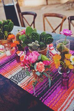 aztec wedding style geometric dessert wedding style