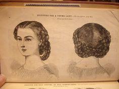 1860's hair