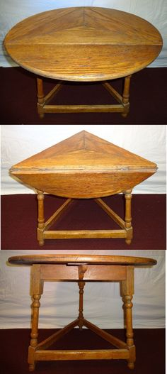 Triangle Drop Leaf Table